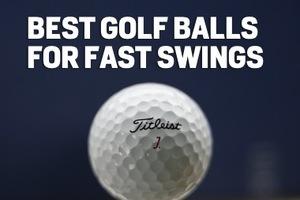 best golf balls for high swing speeds