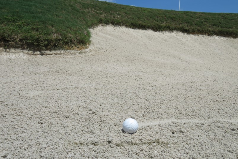 bunkers for beginners how to get out of bunkers