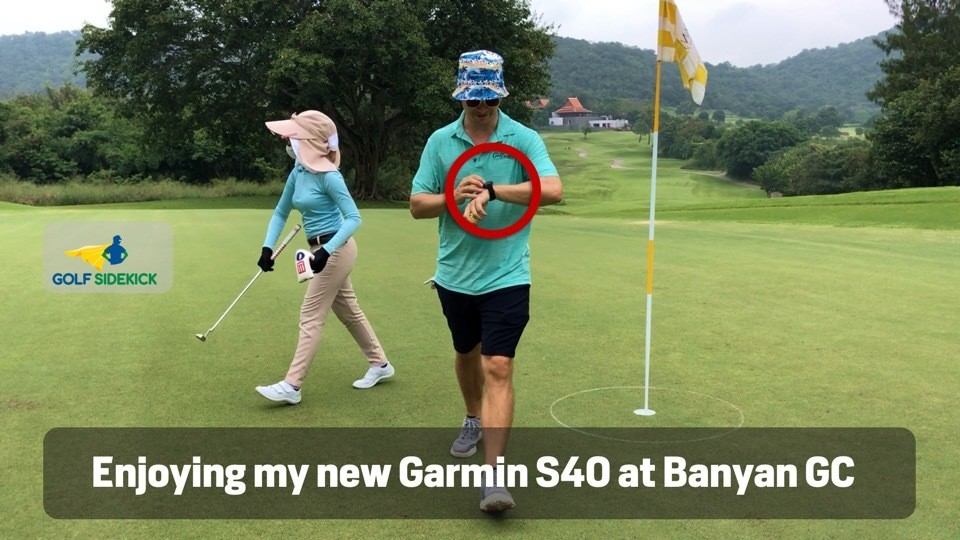 garmin s40 approach golf watch gps review
