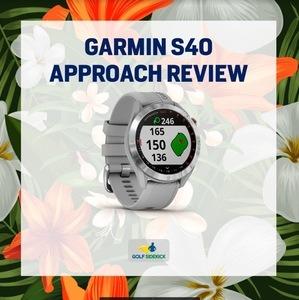 garmin s40 approach review