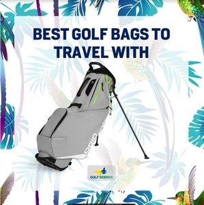 best push cart and stand bags for travel